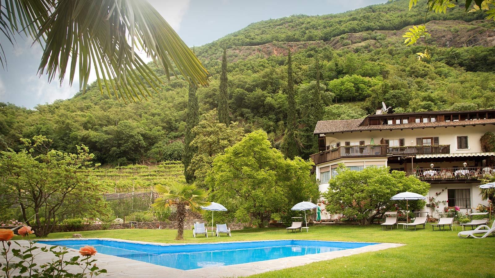 Pension mit Swimming Pool